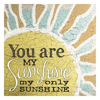 My Only Sunshine 1-Melody Hogan-Art Print