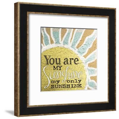 My Only Sunshine 1-Melody Hogan-Framed Art Print
