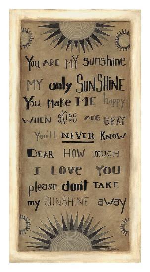 My Only Sunshine-Cindy Shamp-Art Print