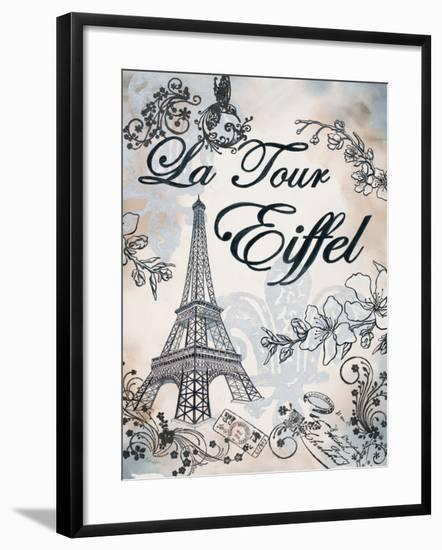 My Paris 3-Tina Epps-Framed Premium Giclee Print