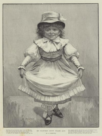 My Partner Fifty Years Ago-Amedee Forestier-Giclee Print