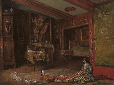 My Room at Tonnerre, 1920-Emile Bernard-Giclee Print