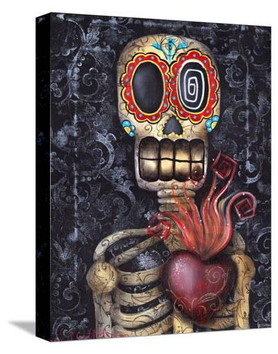 My Sacred Heart-Abril Andrade-Stretched Canvas Print