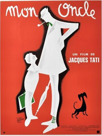 "My Uncle, 1958, ""Mon Oncle"" Directed by Jacques Tati"
