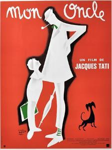 """My Uncle, 1958, """"Mon Oncle"""" Directed by Jacques Tati"""