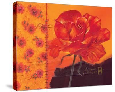 My Valentine-Joadoor-Stretched Canvas Print