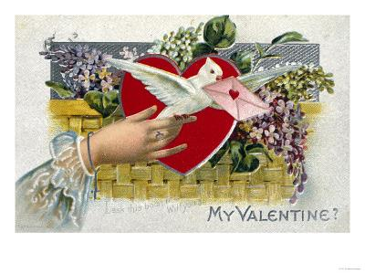 My Valentine--Giclee Print