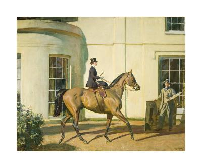 My Wife, My Horse and Myself-Sir Alfred Munnings-Premium Giclee Print