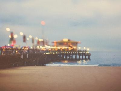A Pier in Summer in USA
