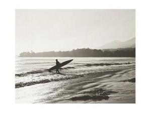 BW Surfer No. 3 by Myan Soffia
