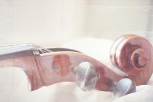 Cello Neck Close Up by Myan Soffia