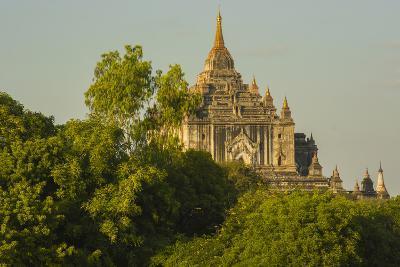 Myanmar. Bagan. Thatbyinnyu Temple-Inger Hogstrom-Photographic Print