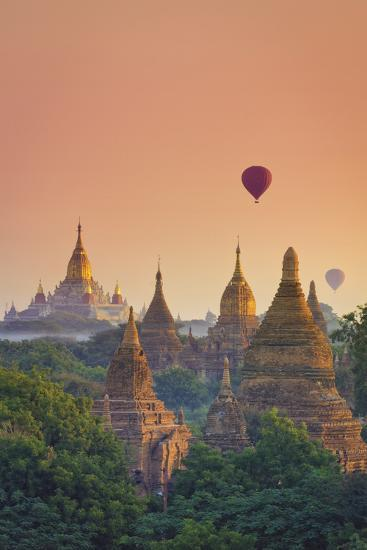 Myanmar (Burma), Temples of Bagan (Unesco World Heritage Site), Ananda Temple-Michele Falzone-Photographic Print
