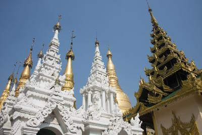 Myanmar, Yangon. Shwedagon Pagoda, Holiest Buddhist Shrine in Myanmar-Cindy Miller Hopkins-Photographic Print