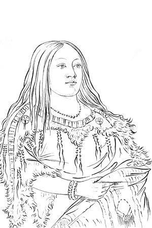 Portrait of a Native American Woman, 1841