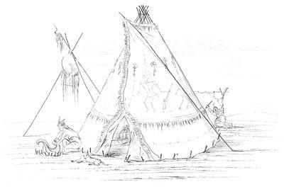 Teepee, 1841
