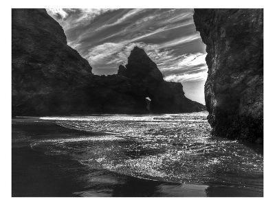 Myers Creek Beach 4-Michael Polk-Art Print