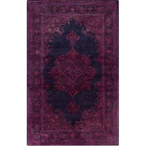 Mykonos Area Rug - Berry/Navy 5' x 8'