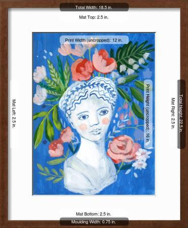 Mykonos Bust I Art Print Sharon Montgomery Art Com