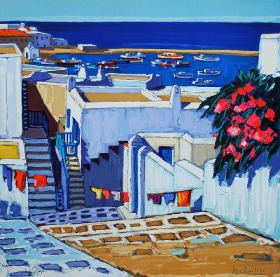 Mykonos : linge au soleil-Jean Claude Quilici-Limited Edition