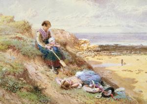 Cullercoats by Myles Birket Foster