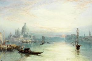 Entrance to the Grand Canal, Venice by Myles Birket Foster