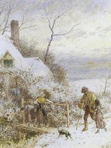 Going Home by Myles Birket Foster