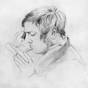 Jonh Greenaway (father of Kate Greenaway), Wood-Engraver by Myles Birket Foster