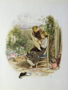 Morning News by Myles Birket Foster