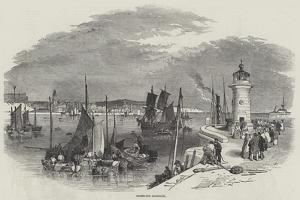 Ramsgate Harbour by Myles Birket Foster