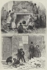 Sketches of Christmas by Myles Birket Foster