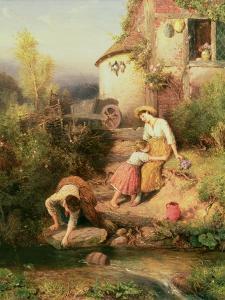 The Brook, 1874 by Myles Birket Foster