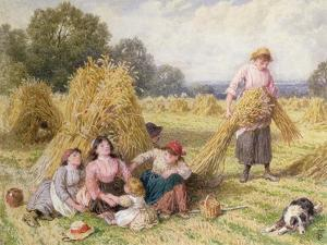 The Cornfield by Myles Birket Foster