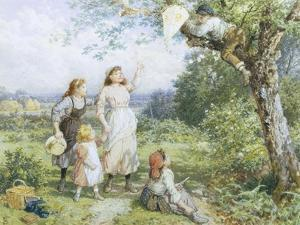 The Entangled Kite by Myles Birket Foster