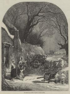 The First Fall of Snow by Myles Birket Foster