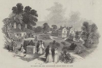 The Harlow Carr Hotel and Sulphureous Alkaline Springs and Baths by Myles Birket Foster