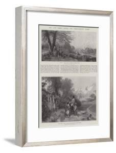 The Late Birket Foster, Two Characteristic Works by Myles Birket Foster