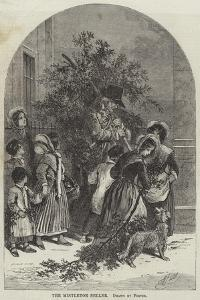 The Mistletoe Seller by Myles Birket Foster