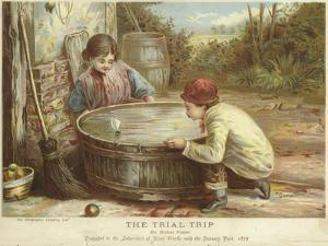 The Trial Trip by Myles Birket Foster