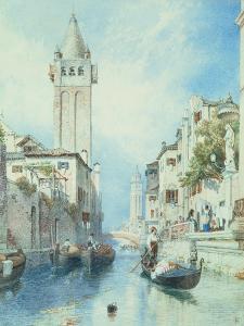 Venice by Myles Birket Foster