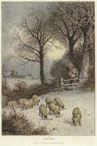 Winter by Myles Birket Foster