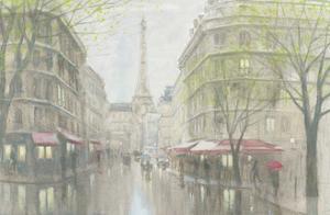 Pale Impression of Paris by Myles Sullivan