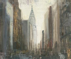Urban Movement I NY Neutral Crop by Myles Sullivan