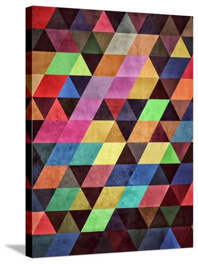 Myltyvyrss-Spires-Stretched Canvas Print