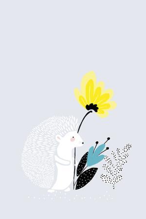 Herisson et Fleur