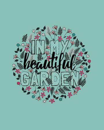 In my Beautiful Garden