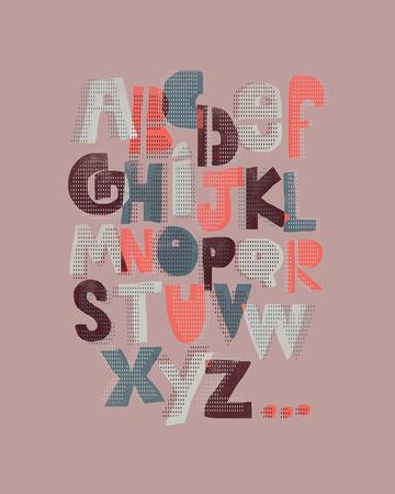 Offset Alphabet