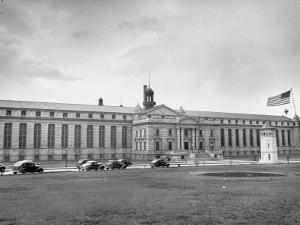 Exterior View of Atlanta Federal Prison by Myron Davis