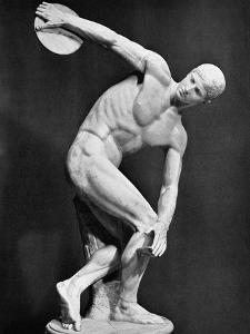 The Discobolus, 450.B.C by Myron