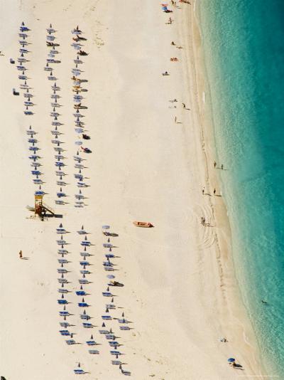 Myrtos Beach, the Best Beach for Sand Near Assos, Kefalonia (Cephalonia), Greece, Europe-Robert Harding-Photographic Print